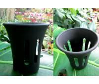 Горшок для орхидей пластиковый, D=6,5см, H=7см