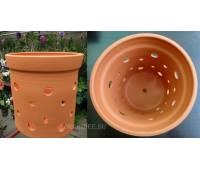 Вазон для орхидей керамический, D 20 см, H 20 см