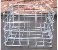 Корзина металлическая квадратная ( 18 см х 18 см)